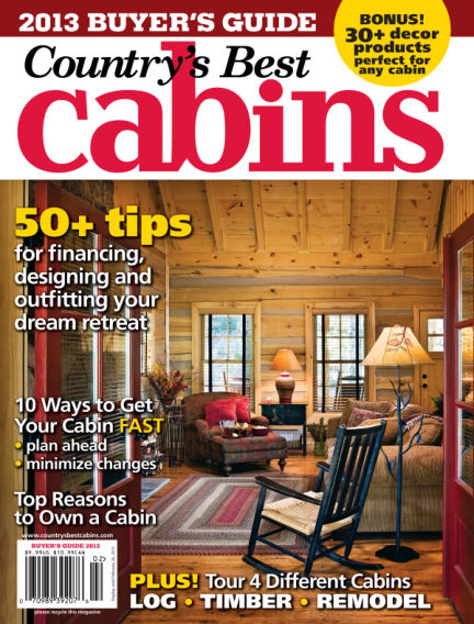 Cabin Living December 25, 2012 00:00