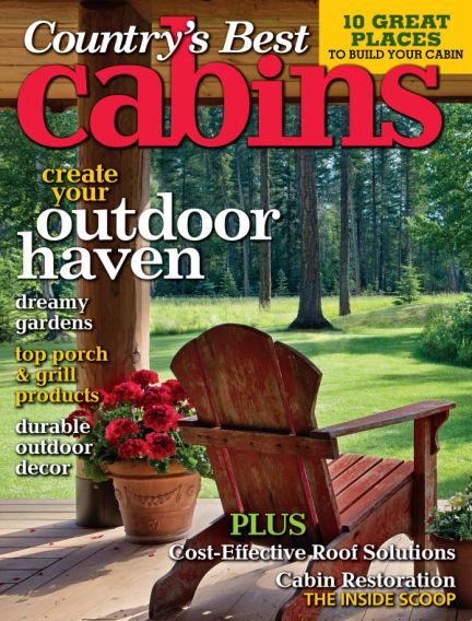 Cabin Living June 25, 2013 00:00