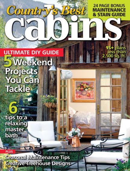 Cabin Living April 25, 2014 00:00