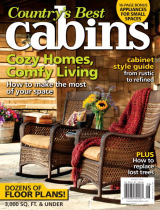 Cabin Living July / August 2014