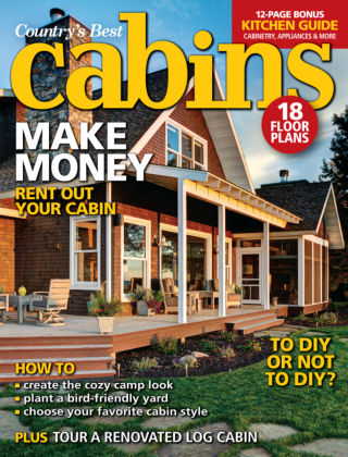 Cabin Living March / April 2015