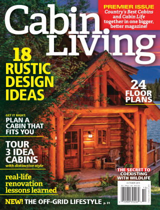 Cabin Living Sept / Oct 2015