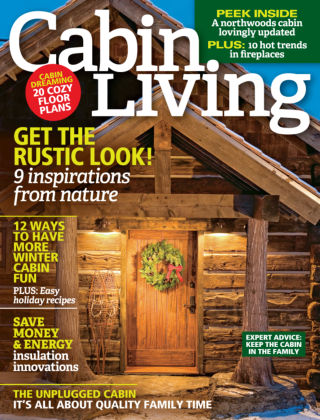 Cabin Living Nov/Dec 2015