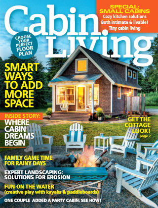Cabin Living Mar 2016