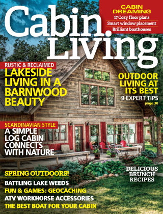 Cabin Living Apr 2016