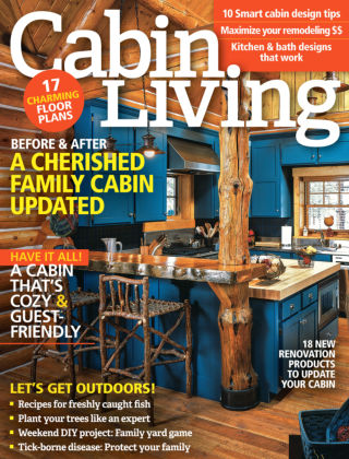 Cabin Living May-Jun 2016