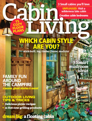 Cabin Living Jul-Aug 2016