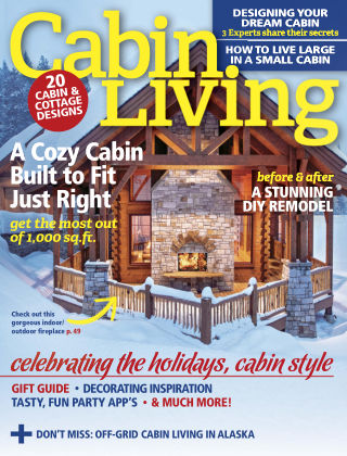 Cabin Living Nov-Dec 2016