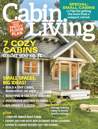 Cabin Living Mar 2017