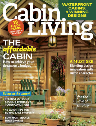 Cabin Living Apr 2017