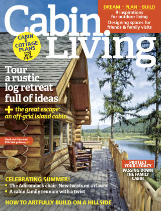 Cabin Living Jul-Aug 2017
