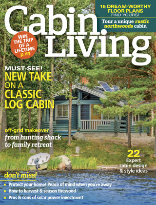 Cabin Living Oct 2017