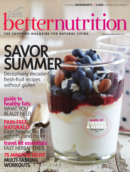 Better Nutrition July 01, 2013 00:00