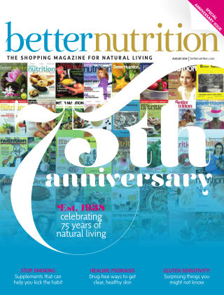 Better Nutrition August 2013