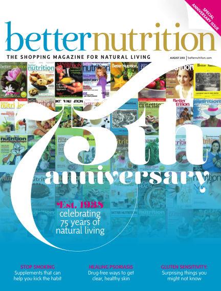 Better Nutrition August 01, 2013 00:00