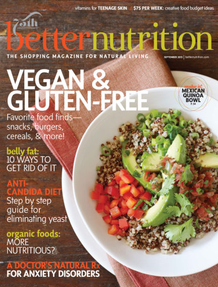 Better Nutrition August 31, 2013 00:00