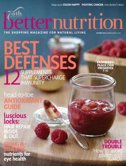 Better Nutrition October 01, 2013 00:00