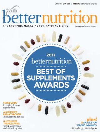 Better Nutrition November 2013