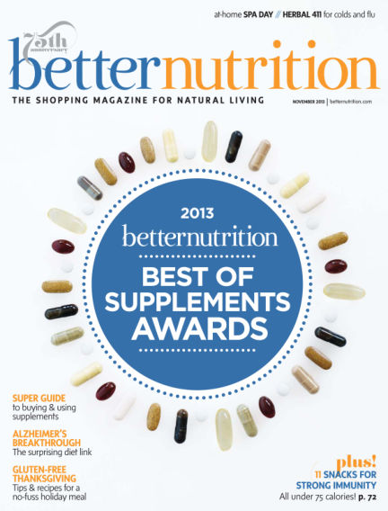 Better Nutrition October 31, 2013 00:00