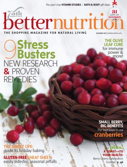 Better Nutrition November 26, 2013 00:00
