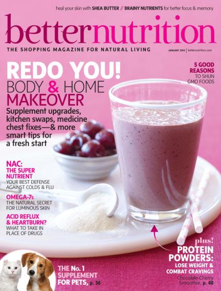 Better Nutrition January 07, 2014 00:00