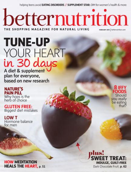 Better Nutrition February 18, 2014 00:00