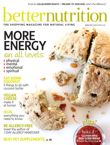 Better Nutrition March 11, 2014 00:00