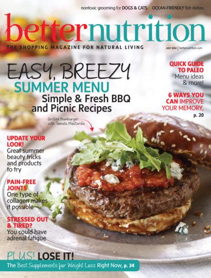 Better Nutrition June 28, 2014 00:00