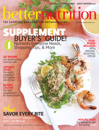 Better Nutrition August 2014