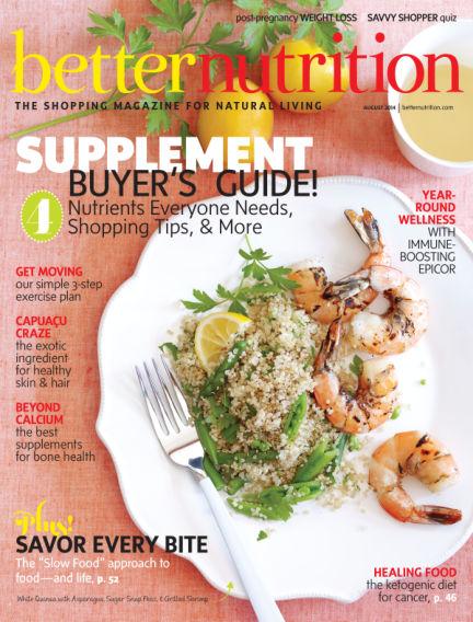 Better Nutrition July 31, 2014 00:00