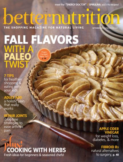 Better Nutrition August 30, 2014 00:00