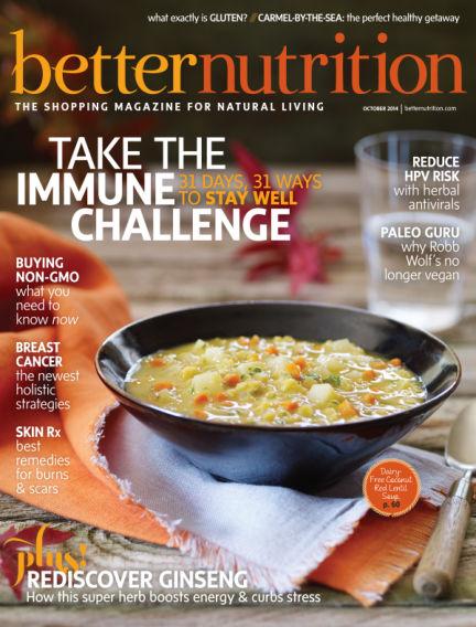 Better Nutrition September 30, 2014 00:00