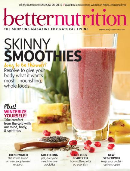 Better Nutrition December 30, 2014 00:00