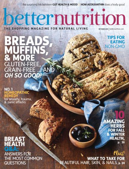 Better Nutrition September 29, 2015 00:00