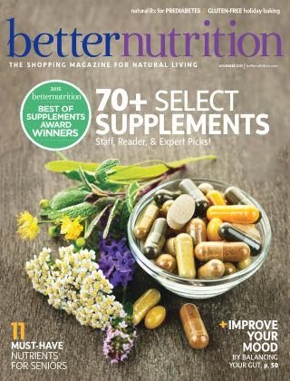 Better Nutrition November 2015