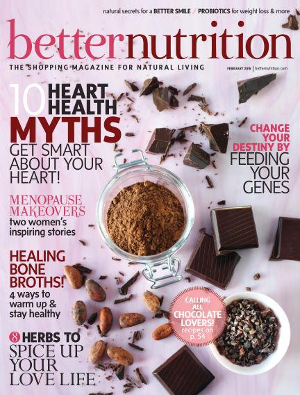 Better Nutrition January 30, 2016 00:00