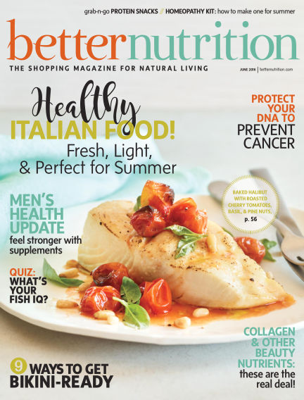 Better Nutrition May 28, 2016 00:00