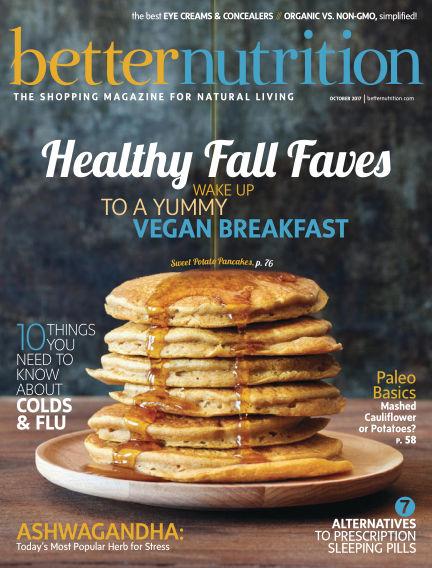 Better Nutrition September 29, 2017 00:00