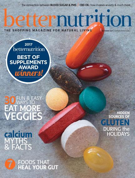 Better Nutrition October 27, 2017 00:00