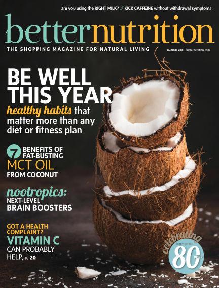 Better Nutrition December 29, 2017 00:00