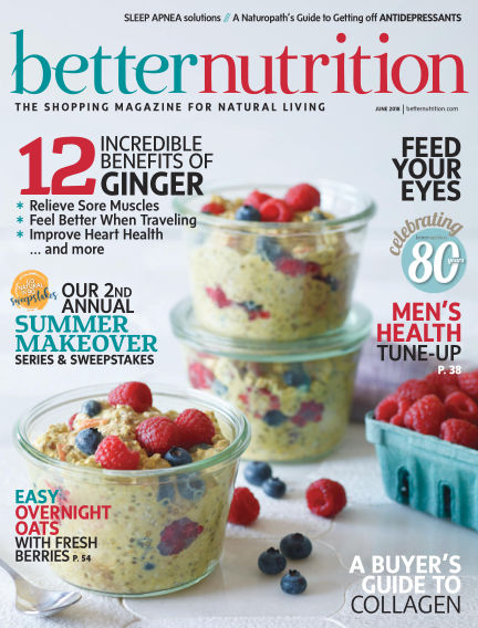 Better Nutrition May 26, 2018 00:00