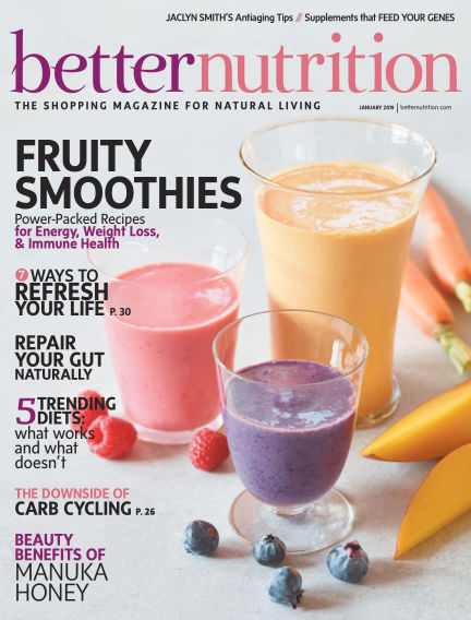 Better Nutrition January 03, 2019 00:00