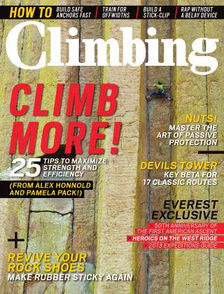 Climbing May 2013