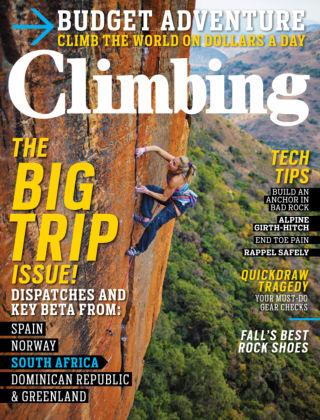 Climbing October 2013