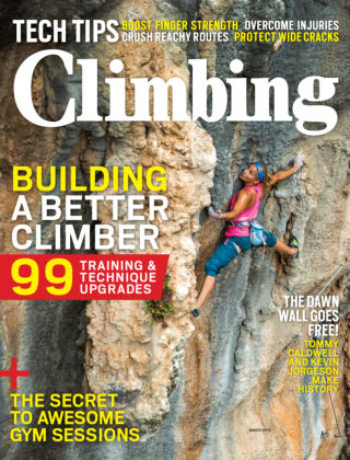 Climbing March 2015