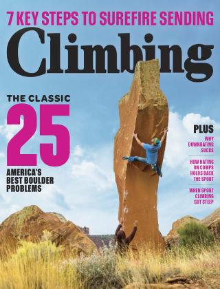 Climbing Jun-Jul 2018