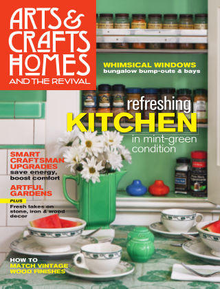 Arts & Crafts Homes Summer 2013