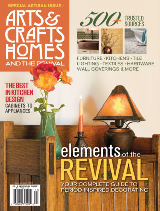 Arts & Crafts Homes Resource Guide 2014
