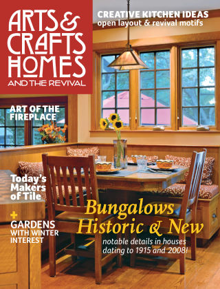 Arts & Crafts Homes Winter 2015