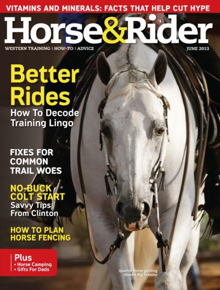 Horse & Rider May 28, 2013 00:00